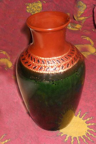 Роспись вазочки