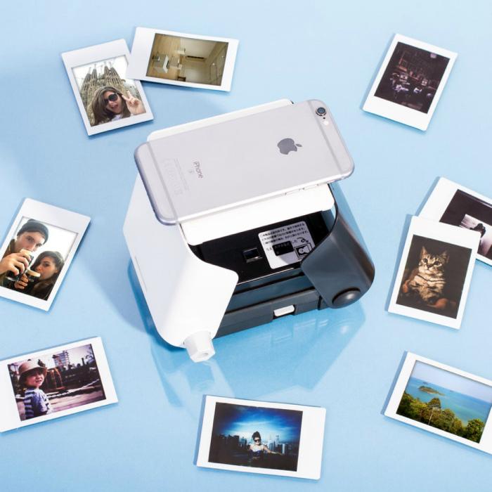 Компактный принтер для фото. | Фото: iisdenino.it.
