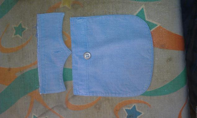 Модная сумка из старых джинсов, фото № 24