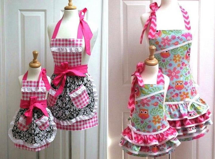 Модные, необычные и современные фартуки на кухню № 4