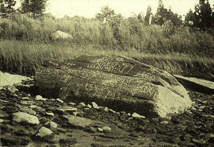 40-тонный валун Дайтон рок.