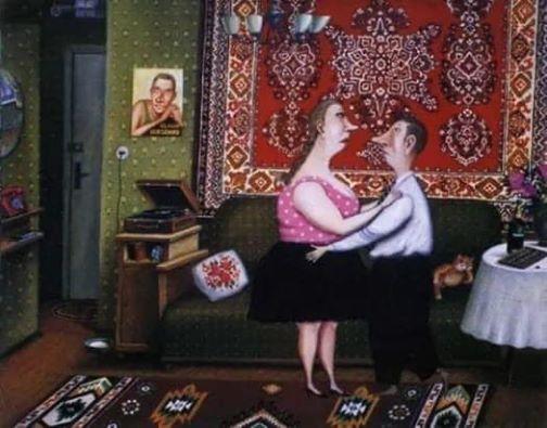 На изображении может находиться: 2 человека, люди сидят и в помещении