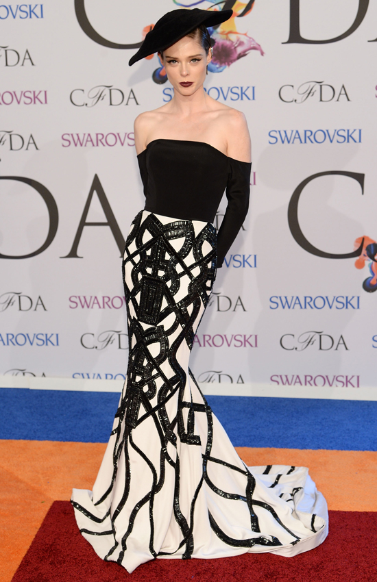 Коко Роша в Christian Siriano, CFDA Awards