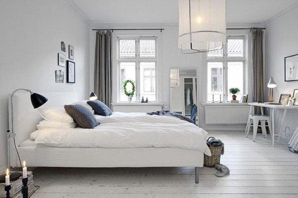 White-Bedroom-Design-of-Scandinavian-Apartment-by-Alvhem