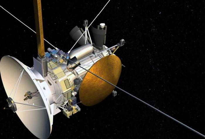 Космический аппарат НАСА Cassini.