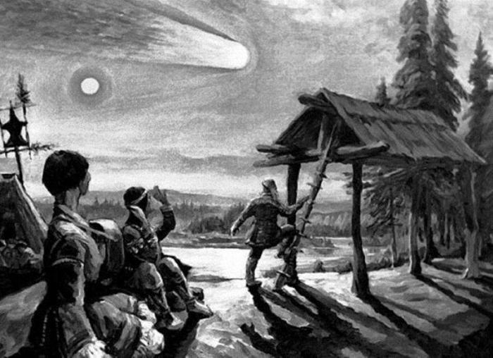Версии происхождения Тунгусского феномена. Тунгусский метеорит, Тунгусский феномен, метеорит