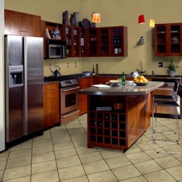 Смелые идеи для маленькой кухни