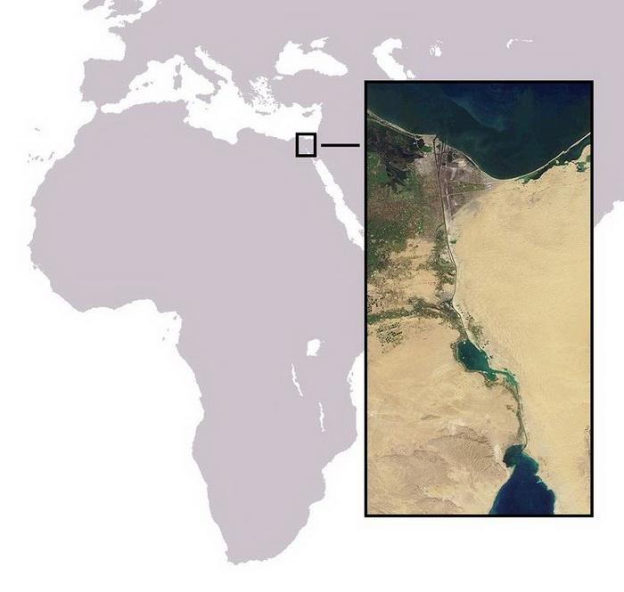 Суэцкий канал. Фото: Википедия