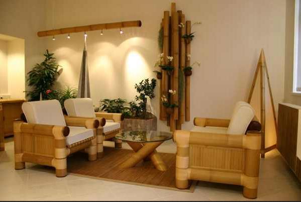 Комплект мебели из бамбука