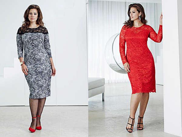 Платья для полных осень-зима 2014-2015