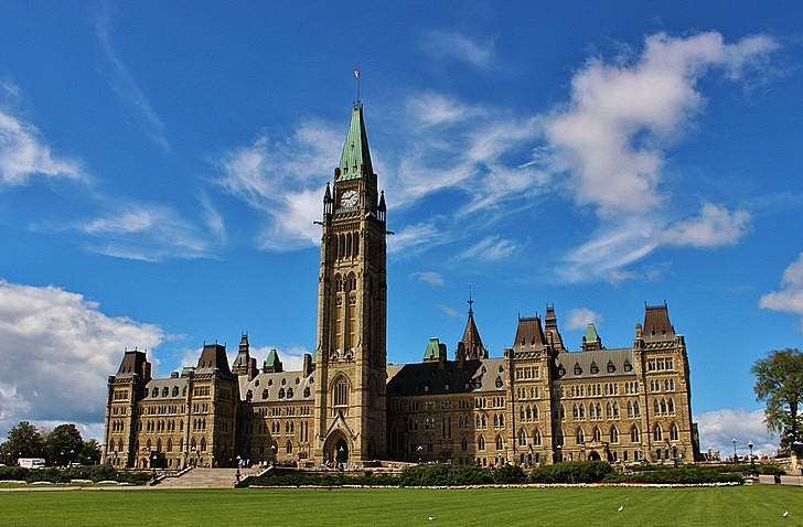 Здание парламента Канады