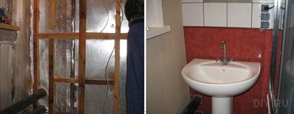 отражающая изоляция в ванной фото