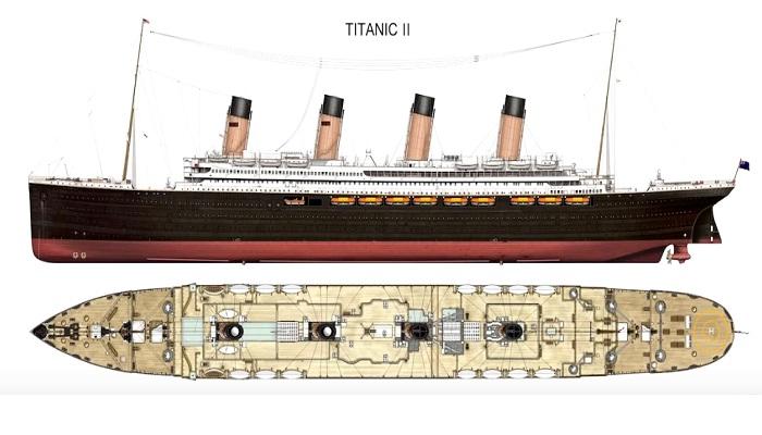 Чертежи «Титаника II».