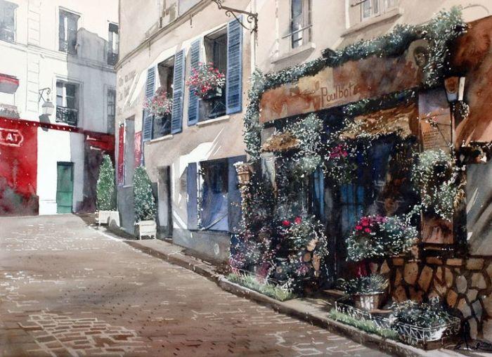 Живописная улица. Автор: Paul Dmoch.