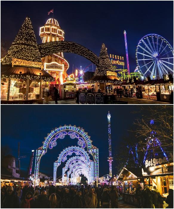 Сказочная атмосфера Рождества витает в воздухе Лондона (Великобритания).   Фото: alekom.kiev.ua/ zimamagazine.com.