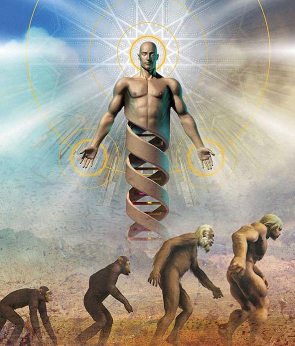 Теистический эволюционизм.