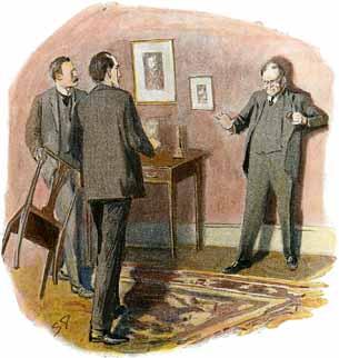 Чарльз Огастес Милвертон, «Возвращение Шерлока Холмса» (1905), Артур Конан Дойль (1859—1930)
