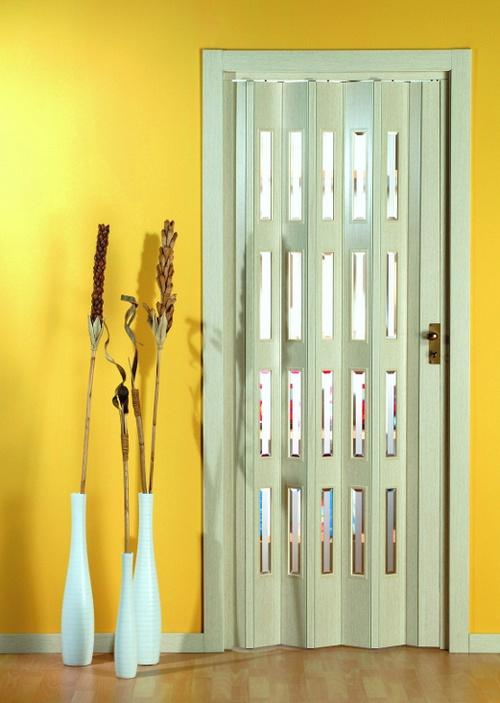 Дверь-гармошка фото