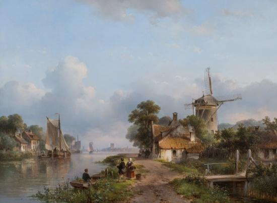 художник Лодевейк Йоханнес Клейн (Lodewijk Johannes Kleijn) картины – 18