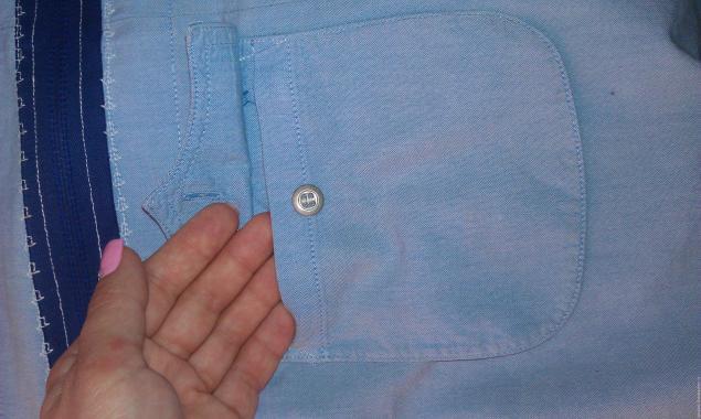 Модная сумка из старых джинсов, фото № 25