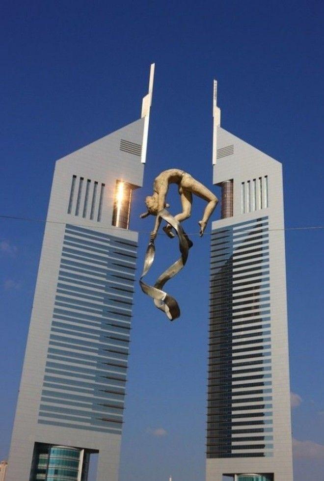 скульптуры бросающие вызов гравитации