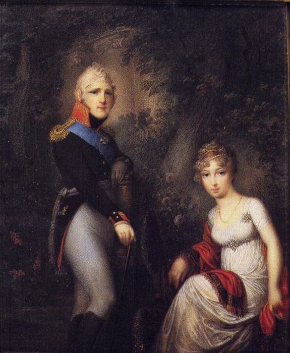 Александр I и Елизавета Алексеевна./Фото: persons-info.com