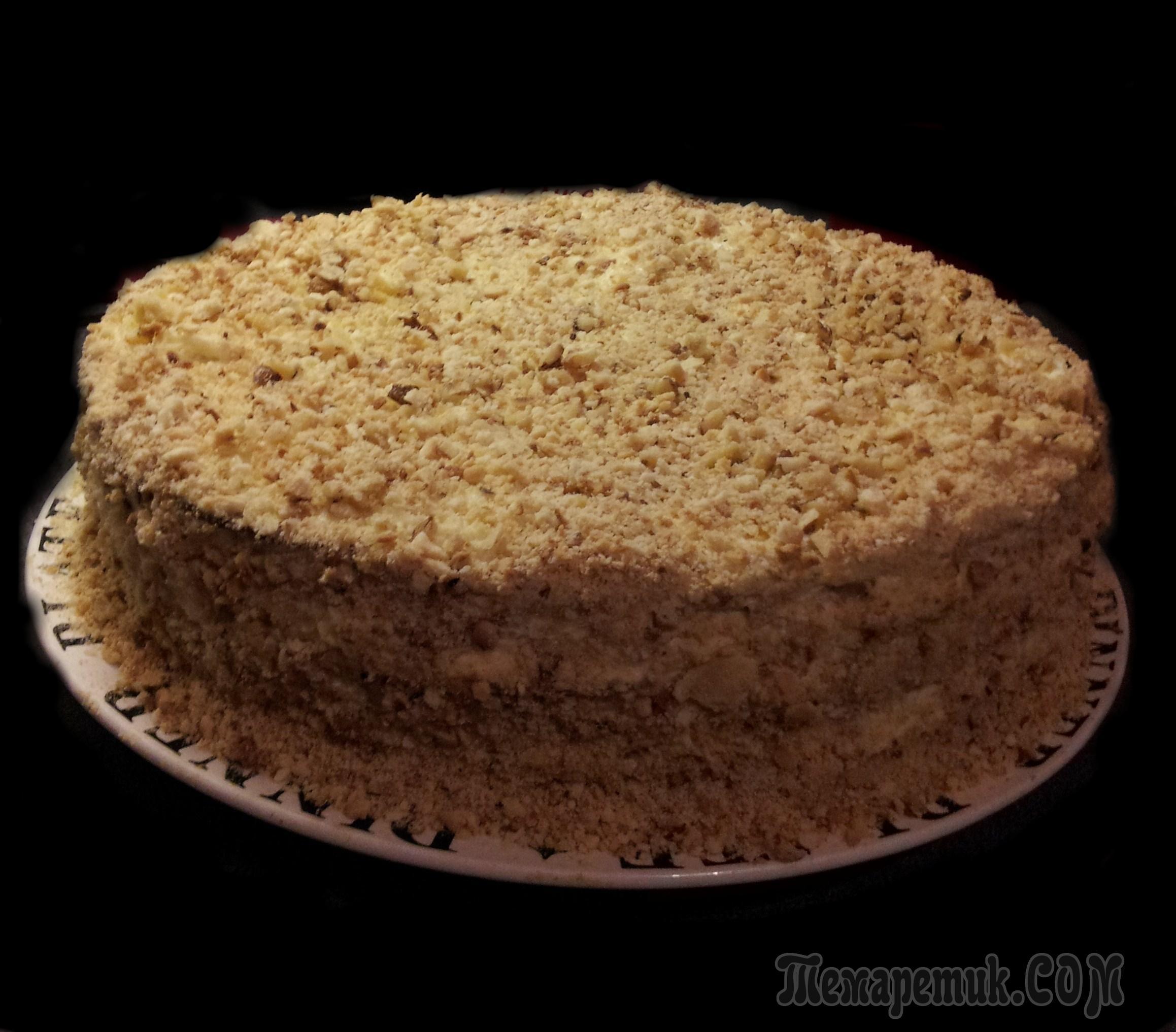 Торт из коржей 125 вкусных рецептов с фото  Алимеро