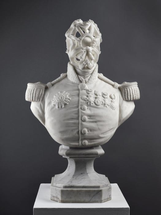 Современный взгляд на классические мраморные скульптуры от Джонатана Оуэна (Jonathan Owen).