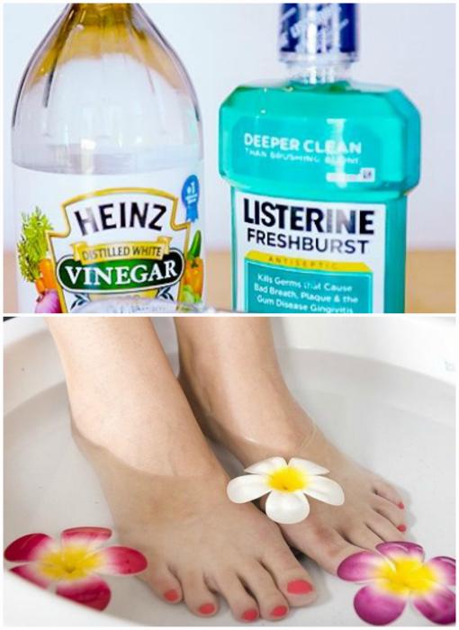 Ванночка для кожи стоп.