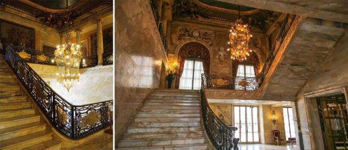 Главная лестница, «Мраморный дом»