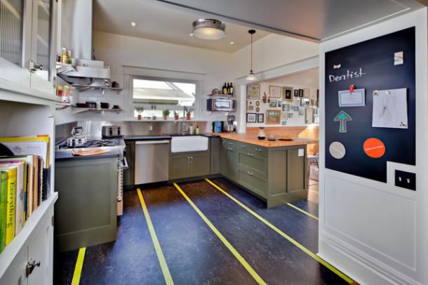 transitional-kitchen (3)мармолеум