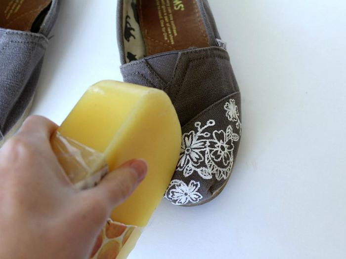 Защита обуви от влаги.