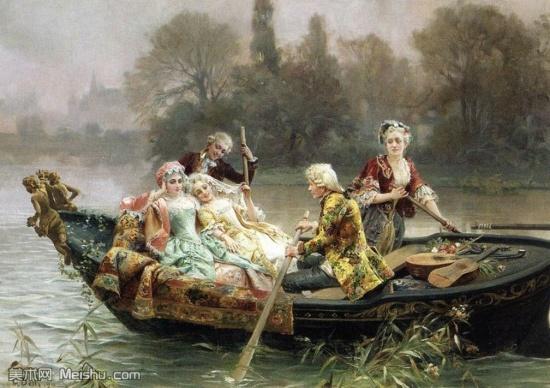 художник Чезаре Аугусто Детти (Cesare Auguste Detti) картины – 05