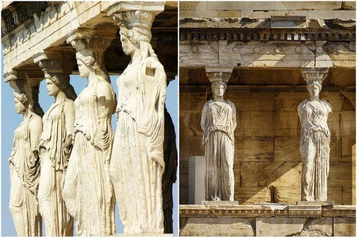 Статуи Парфенона до сих пор считаются каноном изобразительного искусства (Афины, Греция). | Фото: afocusonflorida.com.
