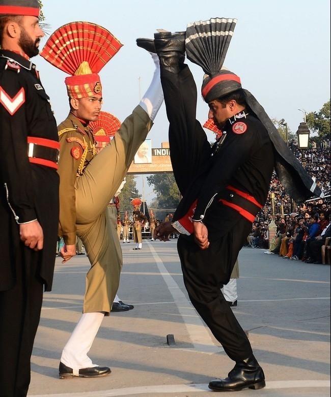 Индия и Пакистан Стиль, армия, военные, мир, мода, одежда, форма