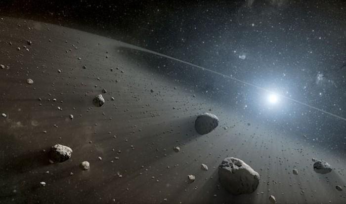 NASA: ценные минералы в поясе астероидов.