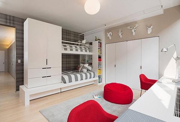 Двухъярусная кровать от Leone Design Studio