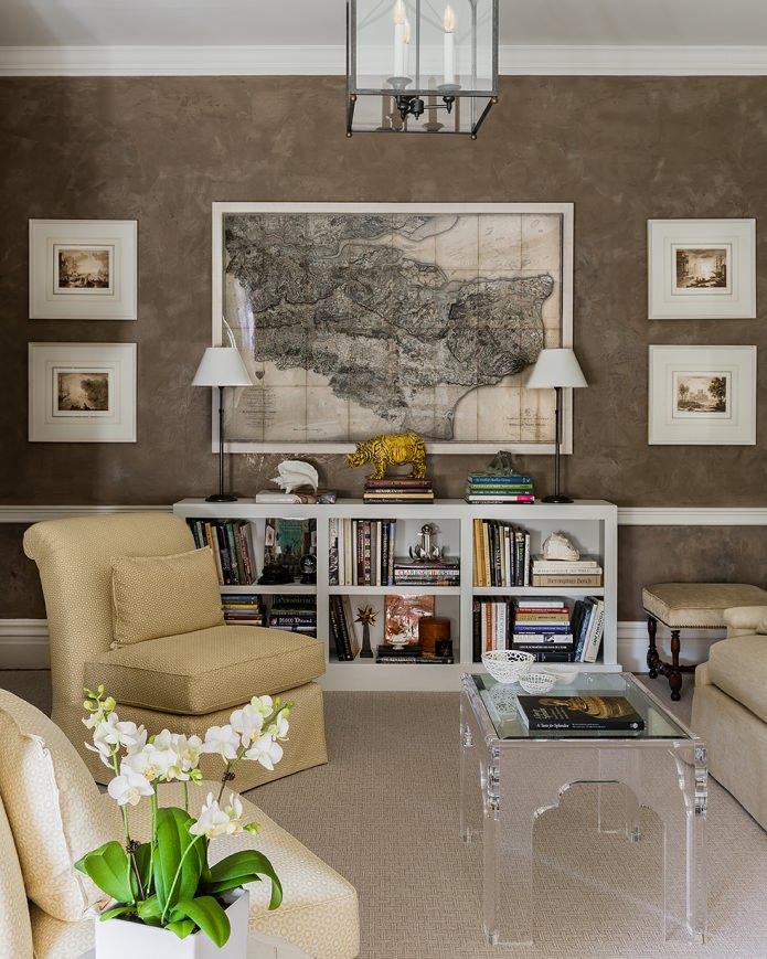 Оформление стен в гостиной: выбор цвета, отделки, акцентная стена в интерьере