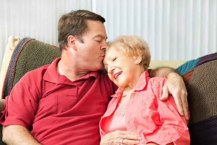 Для своей мамы мы всегда будем маленькими. | Фото: hope4speech.com.