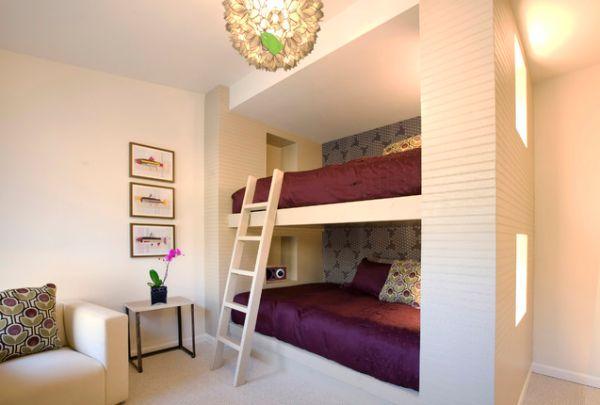 Красивые и оригинальные идеи обустройства двухъярусных кроватей