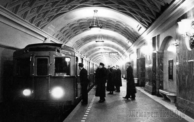 первое метро в мире появилось