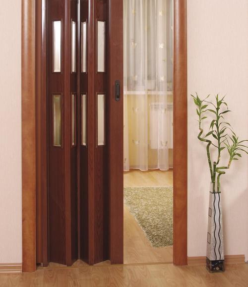 Дверь-гармошка межкомнатная фото