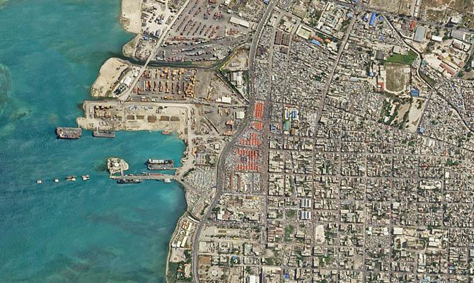 Снимок Гаити со спутника, Интересные факты о Странах Мира