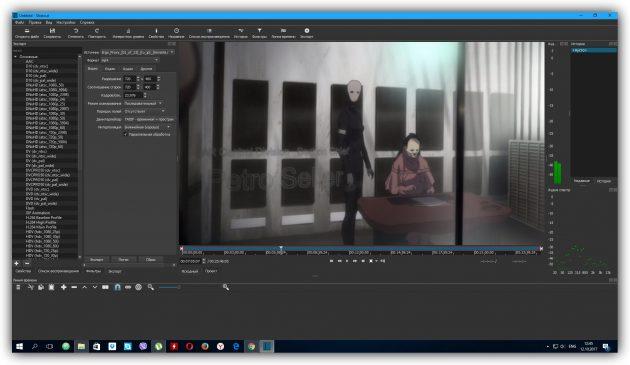 Программы для монтажа видео: Shotcut