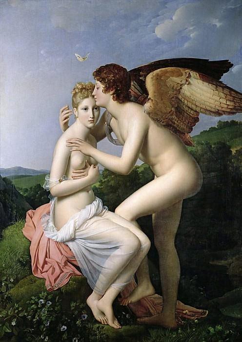 Амур и Психея. Франсуа Паскаль Симон Жерар