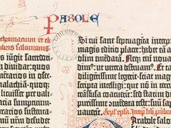 Новость на Newsland: Оксфордская библиотека выложила в Сеть Библию Гутенберга
