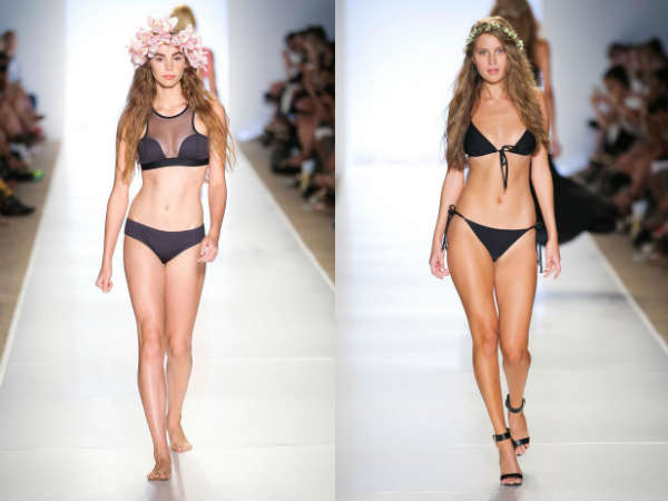 Модные купальники лето 2015: популярная расцветка