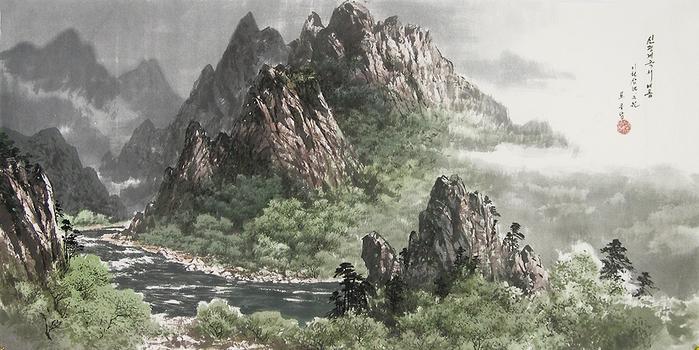 로유담_06_신평계곡의 여름 - Долина Синпхён летом. 2003 (700x350, 370Kb)