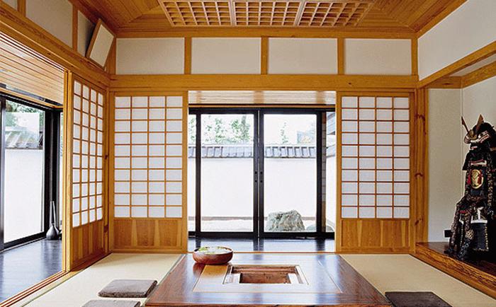 Прихожая в классическом японском стиле