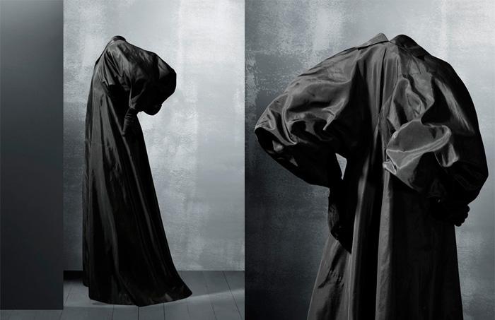Любимый цвет Кристобаля Баленсиаги - черный.
